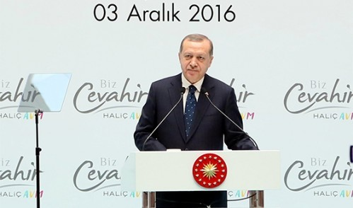 Cumhurbaşkanı Erdoğan, Biz Cevahir Haliç AVM'nin Açılışını Gerçekleştirdi
