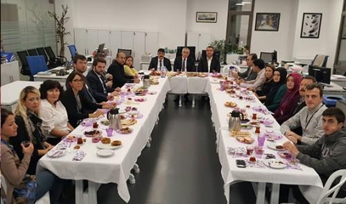 Plan ve Proje Müdürlüğü Personelleriyle Kahvaltı