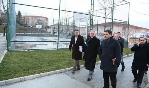 Park ve Yeşil Alanları İnceledi