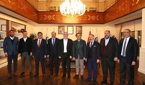 Belediye Başkanları Eyüp'te Bir Araya Geldi