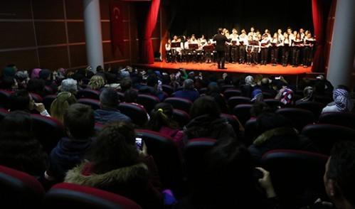 Gönülden Gönüle Müzik Topluluğundan Muhteşem Konser
