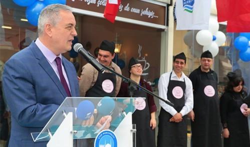"""Eyüp Sultan'a Çok """"Özel"""" Kafe"""