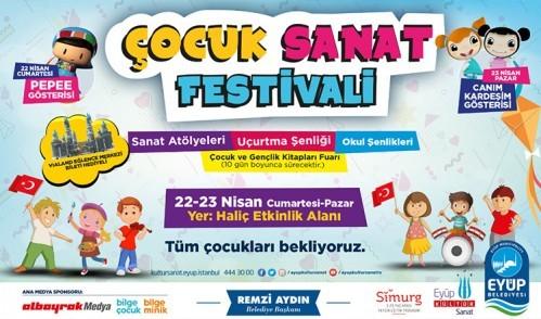 Eyüp'te Çocuk Sanat Festivali başlıyor