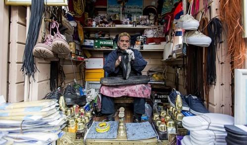"""Eyüp Sultan'ın tarihi ayakkabı boyacısı """"Yılın 365 Günü Çalışıyorum"""""""