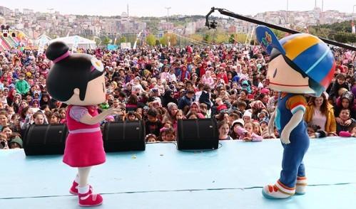 Eyüp'te muhteşem çocuk festivali