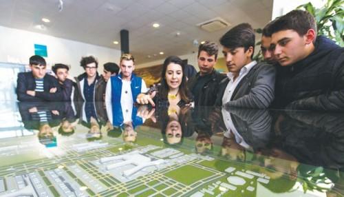 Eyüplü öğrencilere dev proje turu