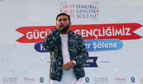 Resul Aydemir Simurg Gençlik Şöleni'nde