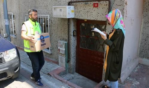 Eyüp Belediyesi Ramazan'da da yüzleri güldürüyor