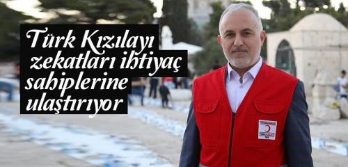 Türk Kızılayı zekatları ihtiyaç sahiplerine ulaştırıyor