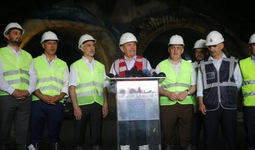 Başkan Topbaş ve Aydın metro çalışmalarını inceledi