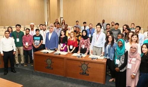 Geleceğin yönetici adayları Eyüp Belediyesi'ne misafir oldu!