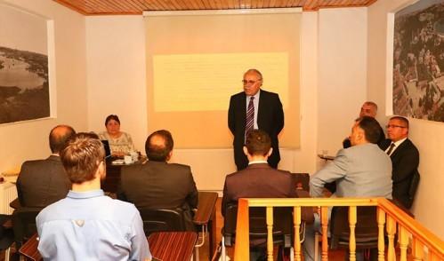 EYSAM, personeli bilgilendirme toplantılarına devam ediyor