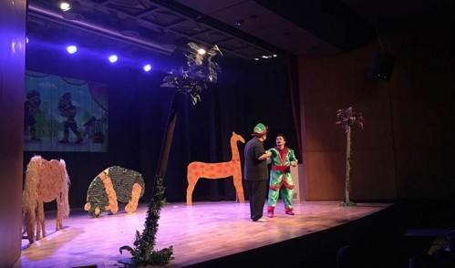 Eyüpsultan'da tiyatro salonları çocuklarla şenlendi
