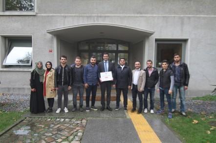 Eyüplü öğrenciler Bilgi Üniversitesi'ni ziyaret etti