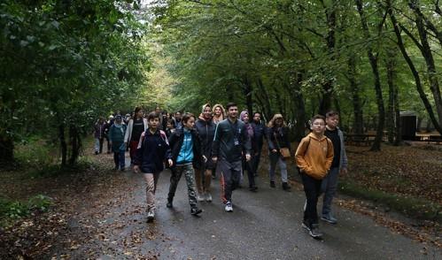 Eyüpsultanlılar doğa yürüyüşünde buluştu