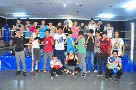 Eyüpspor Boks Şubesi'nde geleceğin şampiyonları yetişiyor