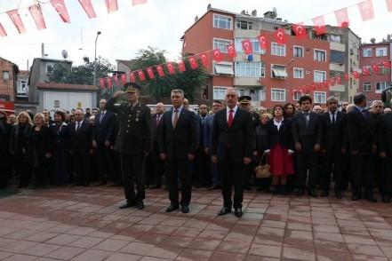 Gazi Mustafa Kemal Atatürk törenlerle anıldı