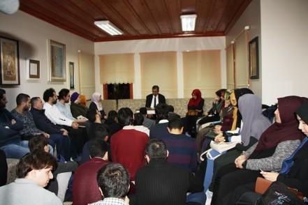 Türkçeyi sevdiren yazar Hayati İnanç, Eyüpsultanlılar ile buluştu
