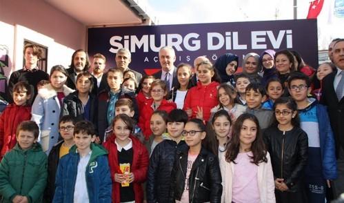 Türkiye'de bir ilk olan Simurg Dil Evi açıldı
