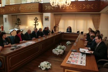 Türk Dünyası Belediyeler Birliğinden Eyüpsultan Belediyesine ziyaret