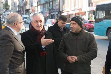 Başkan Remzi Aydın, Esentepe mahallesini ziyaret etti