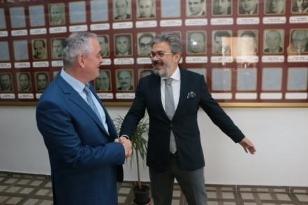 Başkan Remzi Aydın'dan İl Milli Eğitim Müdürü'ne ziyaret