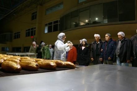 ESER'liler İstanbul Halk Ekmeği ziyaret etti