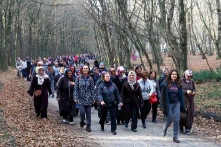Eyüpsultanlılar 7'den 77'ye doğa yürüyüşü yapıyor
