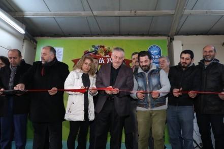 Sağlıklı nesiller için 'Organik Pazar' açıldı