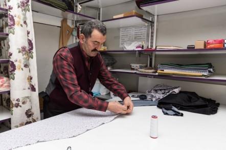 50 senelik usta terzi: Burhan Çakır