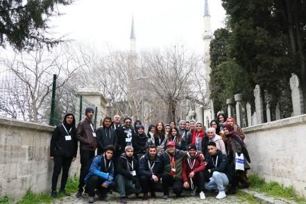 Avustralyalı öğrencilere ESTAM rehberlik hizmeti