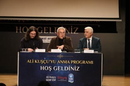 Ali Kuşçu Paneli'ne yoğun ilgi