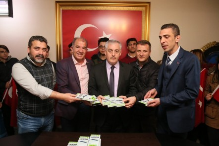 Halis Kutmangil Lisesi, Eyüpsultan Belediye Başkanı Remzi Aydın, Eyüpsultan Belediyesi