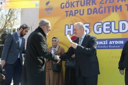 Eyüpsultan Belediye Başkanı Remzi Aydın, Göktürk 2B imar planı, Eyüpsultan'da Gündem programı