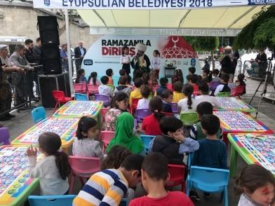 Tekne orucu, Eyüpsultan, Eyüpsultan Belediyesi, Eyüpsultan Belediye Başkanı Remzi Aydın, iftar, çocuk