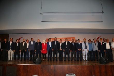 24 Haziran seçim, 152 Sivil Toplum Kuruluşu, AK Parti İstanbul İl Başkanı Bayram Şenocak, Eyüpsultan Belediye Başkanı Remzi Aydın