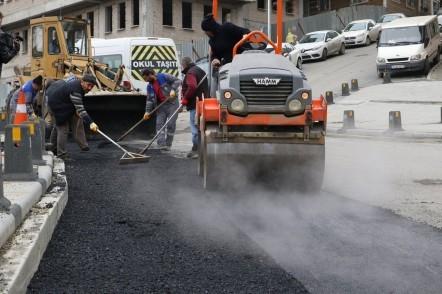 Eyüpsultan Belediye Başkanı Remzi Aydın, Eyüpsultan Belediyesi, asfalt, yol, sokak, cadde, alt yapı, üst yapı