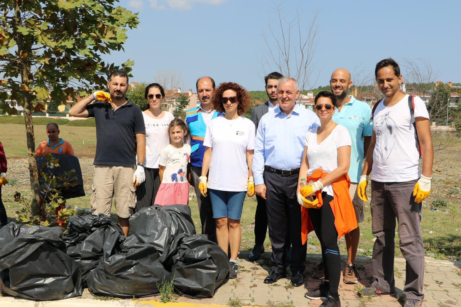 5 Eylül Dünya Temizlik Günü, Eyüpsultan Belediyesi Temizlik İşleri Müdürlüğü, Eyüpsultan Belediye Başkanı Remzi Aydın, Göktürk