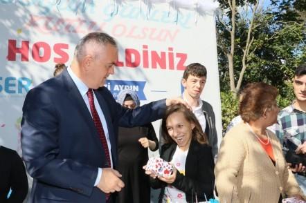 Eyüpsultan Belediye Başkanı Remzi Aydın, Tülay Aydın, Engelliler Sürekli Eğitim ve Rehberlik Merkezi, ESER