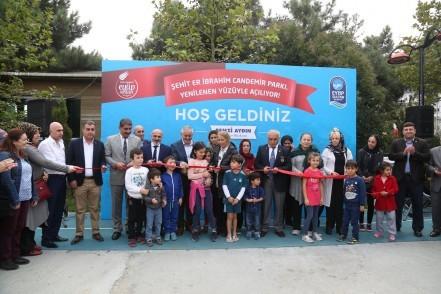 Şehit Er İbrahim Candemir Parkı, Eyüpsultan Belediye Başkanı Remzi Aydın, Şehit Er İbrahim Candemir