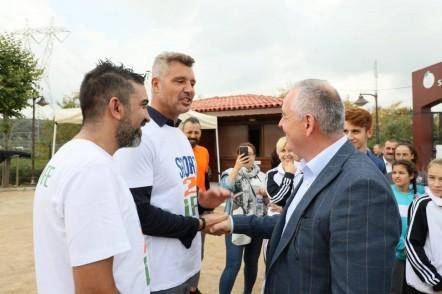 Sport2Life etkinliği, Eyüpsultan Belediyesi, Eyüpsultan Belediye Başkanı Remzi Aydın, Sadettin Saran