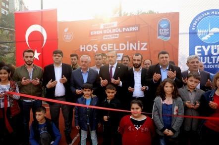 Eyüpsultan Belediyesi,  Eyüpsultan Belediye Başkanı Remzi Aydın, Şehit Eren Bülbül Parkı