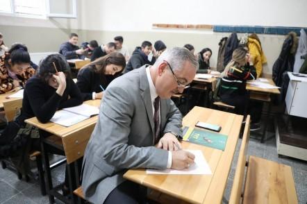 Eyüpsultan Belediye Başkanı Remzi Aydın, deneme sınavı, üniversite sınavı