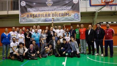 Eyüpsultan Belediyesi, Eyüpsultan Belediye Başkanı Remzi Aydın, Öğretmenler Arası Voleybol Turnuvası