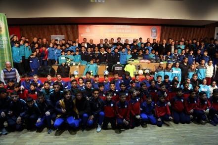 Eyüpsultan Belediyesi, Eyüpsultan Belediye Başkanı Remzi Aydın, amatör spor kulüpleri, malzeme, destek