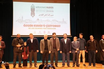 2.Uluslararası Mirasımız Kudüs Karikatür Yarışması, Eyüpsultan Belediye Başkanı Remzi Aydın,