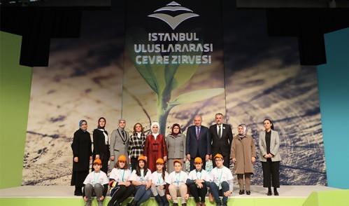 Çocuk Meclisi, İstanbul Uluslararası Çevre Zirvesi ve Fuarı''na katıldı
