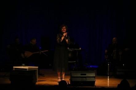 Türk halk müziği sanatçısı Şükriye Tutkun, Eyüpsultan Kültür ve Sanat Merkezi,