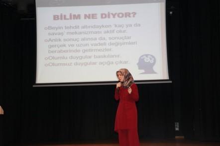 Eyüpsultan Belediyesi Kültür İşleri Müdürlüğü, Çocuk gelişim uzmanı ve yazar Hatice Kübra Tongar