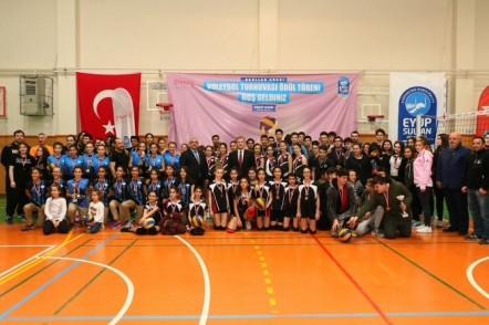 Eyüpsultan Belediyesi, Gençlik ve Spor Hizmetleri Müdürü Mehmet Irmak, Voleybol Turnuvası
